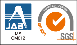 SGS ISO-9001 with JAB